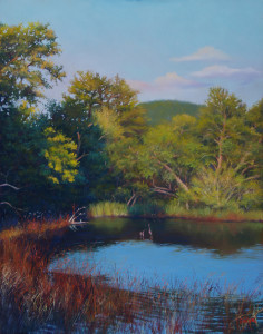 L-1-Marsh View, late Summer-27x33